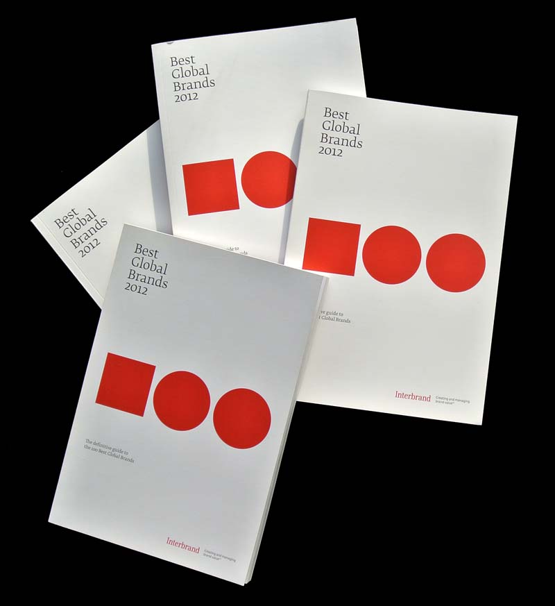 Best Global Brands 2012 books matthijs matt van leeuwen forest young interbrand 2012