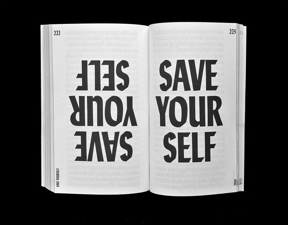 Manifestos Matthijs Matt van Leeuwen Joseph Han Spread Michael Rock Save Yourself 2014