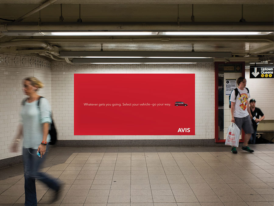 Avis Visual Identity, Matthijs Matt van Leeuwen, Mike Knaggs, Interbrand New York, Ad