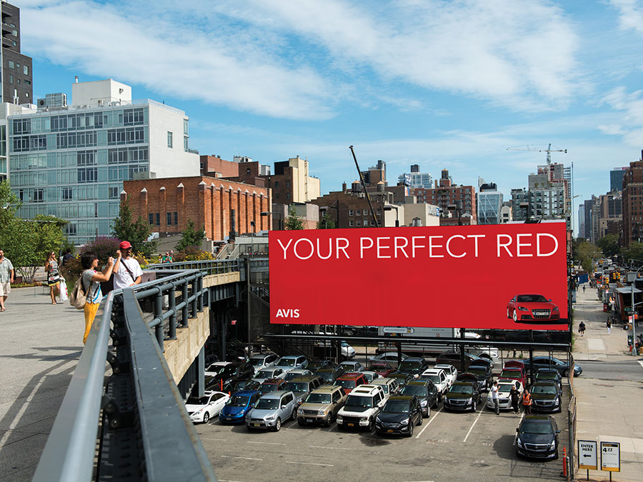 Avis Visual Identity, Matthijs Matt van Leeuwen, Mike Knaggs, Interbrand New York, Highline