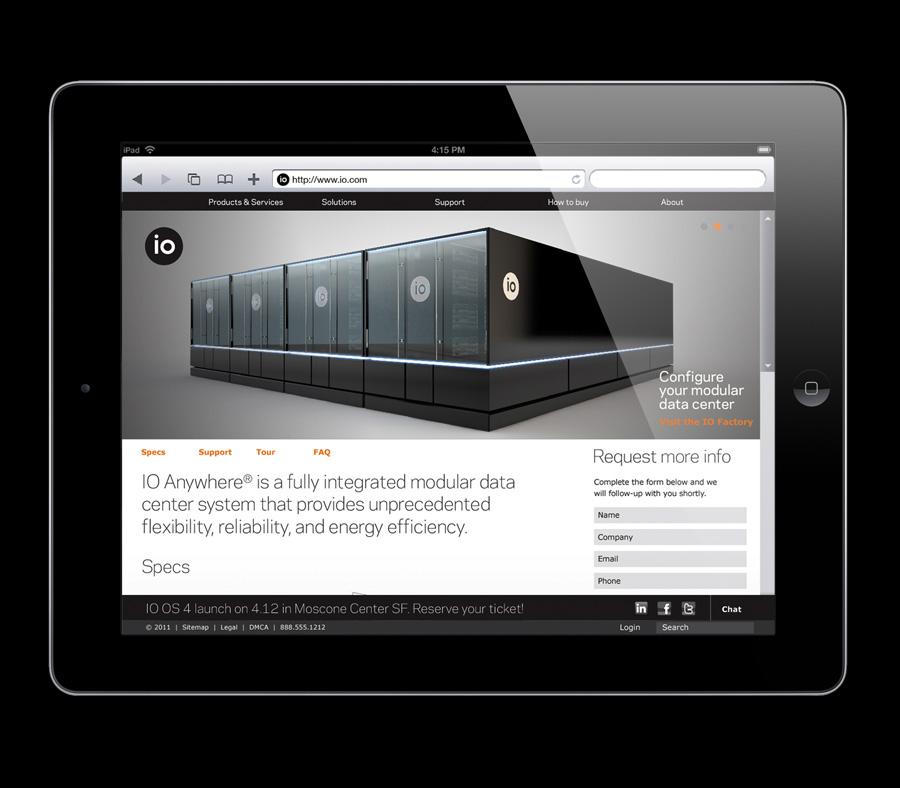 IO Matthijs Matt van Leeuwen Interbrand New York, Alan Roll, Website Page