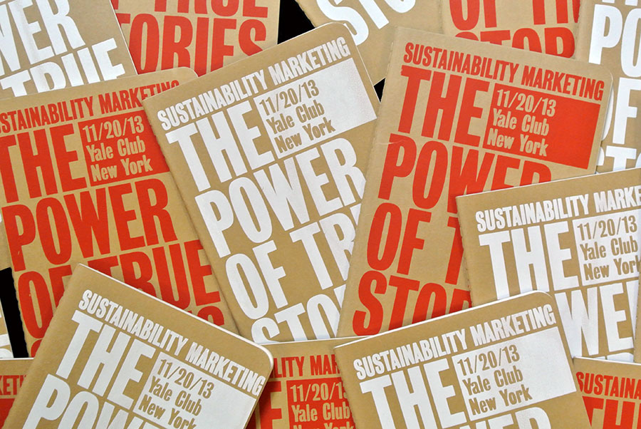 The Power Of True Stories #SMCstories Matt Matthijs van Leeuwen Joseph Han Interbrand New York, Book pile