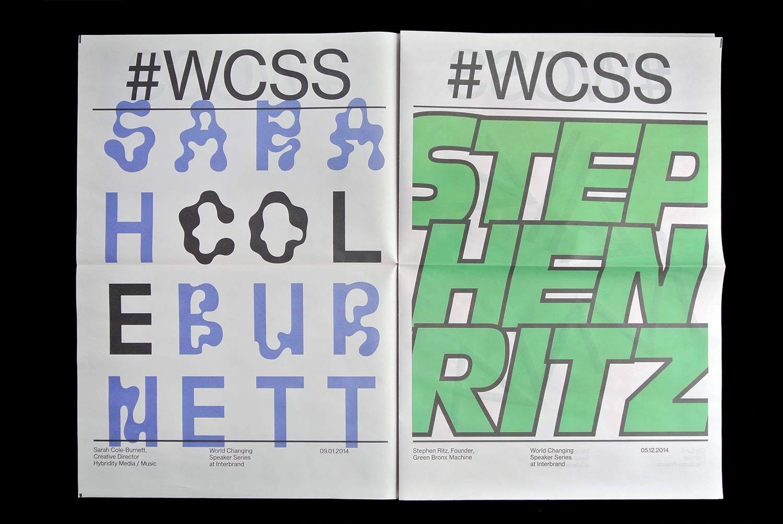 WCSS, Matthijs Matt van Leeuwen, Joseph Han, Posters, Newspaper