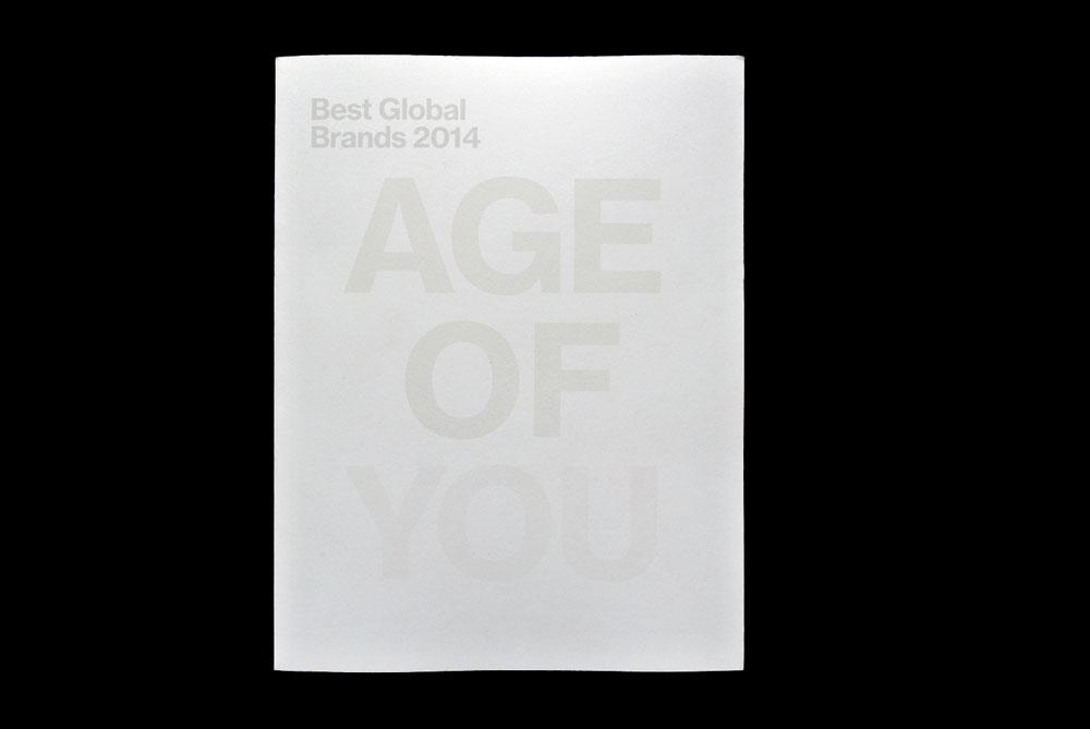 Best Global Brands 2014, Age Of You, Matthijs Matt van Leeuwen, Forest Young, Joseph Han, Book Cover, Interbrand New York