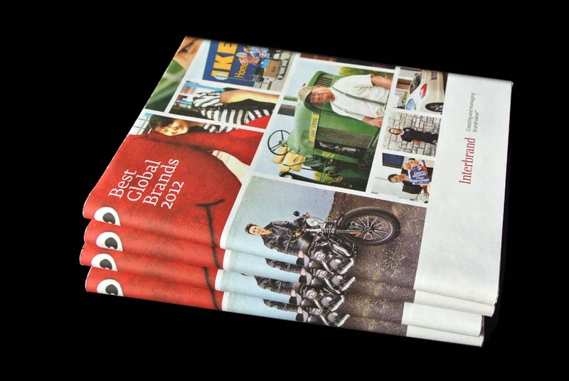 Best Global Brands 2012 books dustjacket matthijs matt van leeuwen forest young interbrand New York