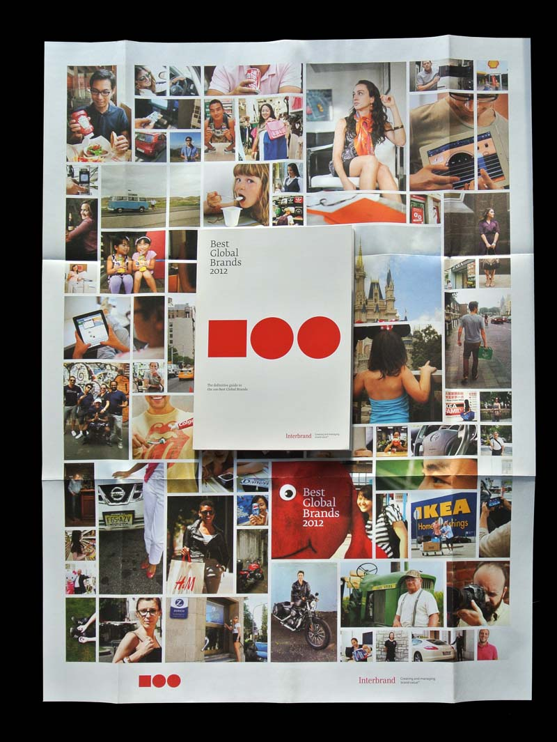 Best Global Brands 2012 poster matthijs matt van leeuwen forest young interbrand New York
