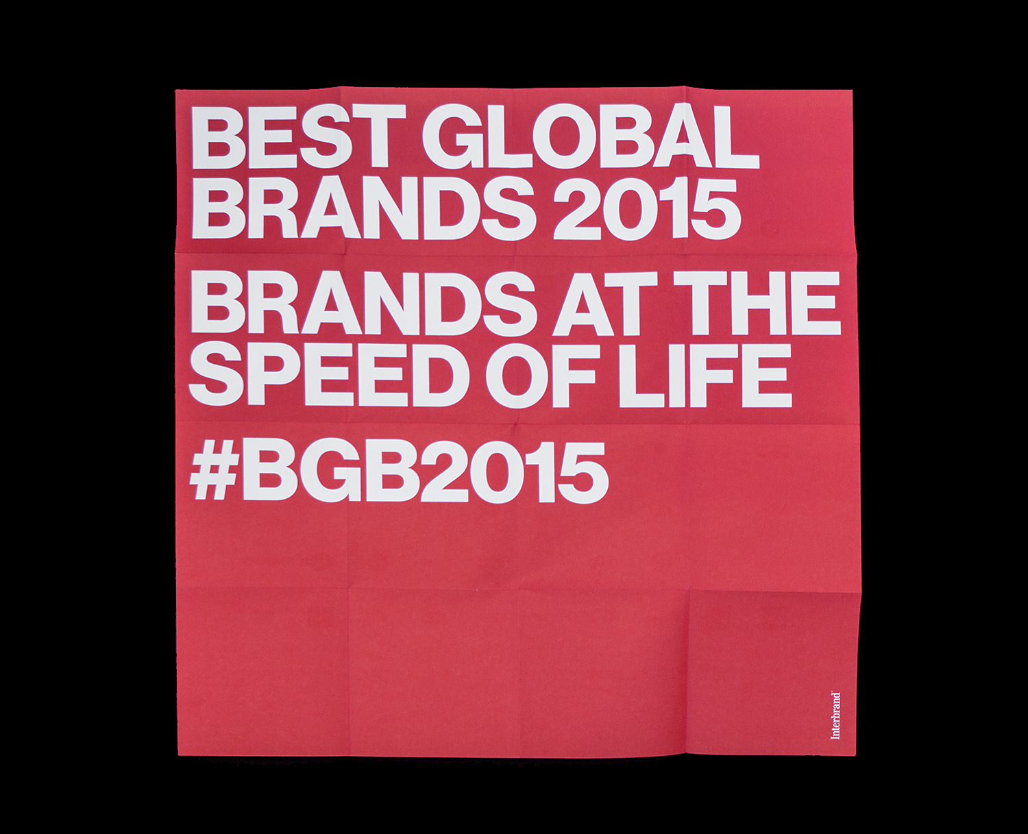 Matthijs, Matt van Leeuwen, Kozue Yamada, Best Global Brands 2015, Posters, Interbrand, Whitney Museum of American Art