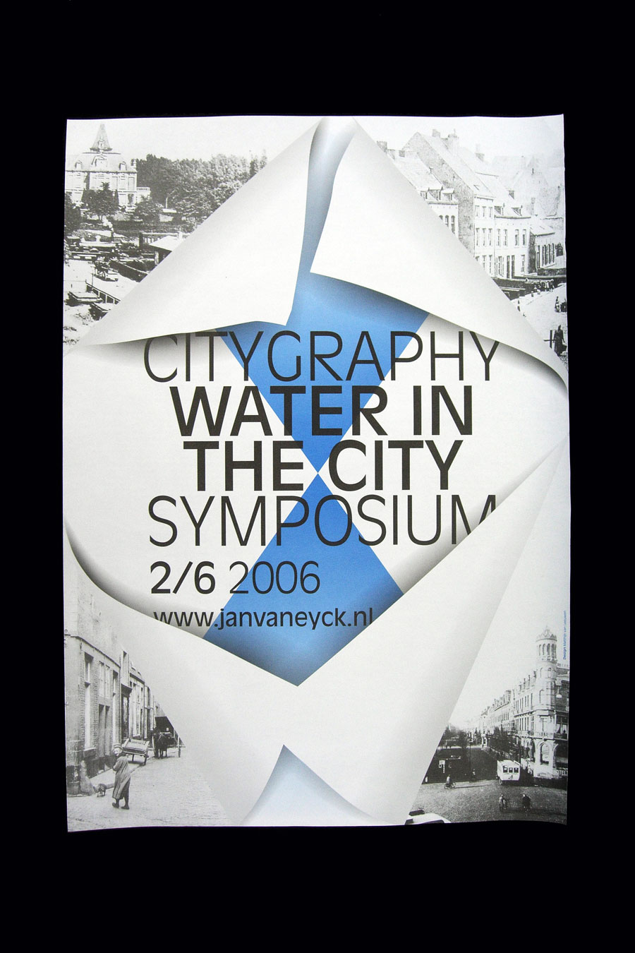Matthijs Matt van Leeuwen, Citygraphy, Poster, Jan van Eyck