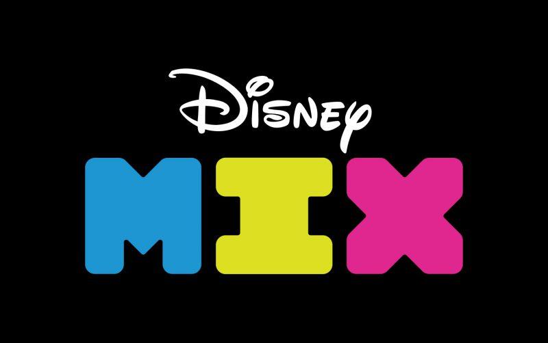 Disney Mix Logo, Typography, Matthijs Matt van Leeuwen, Kurt Munger, Justin Ross Tolentino, Interbrand