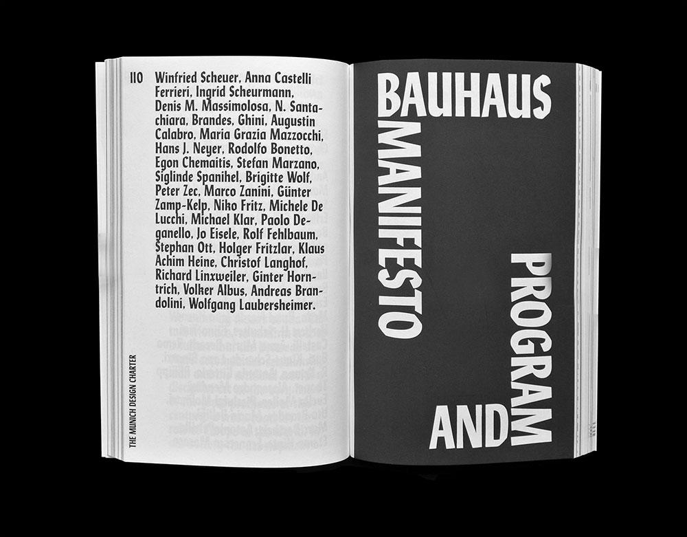 Manifestos Matthijs Matt van Leeuwen Joseph Han Spread Bauhaus Manifesto 2014