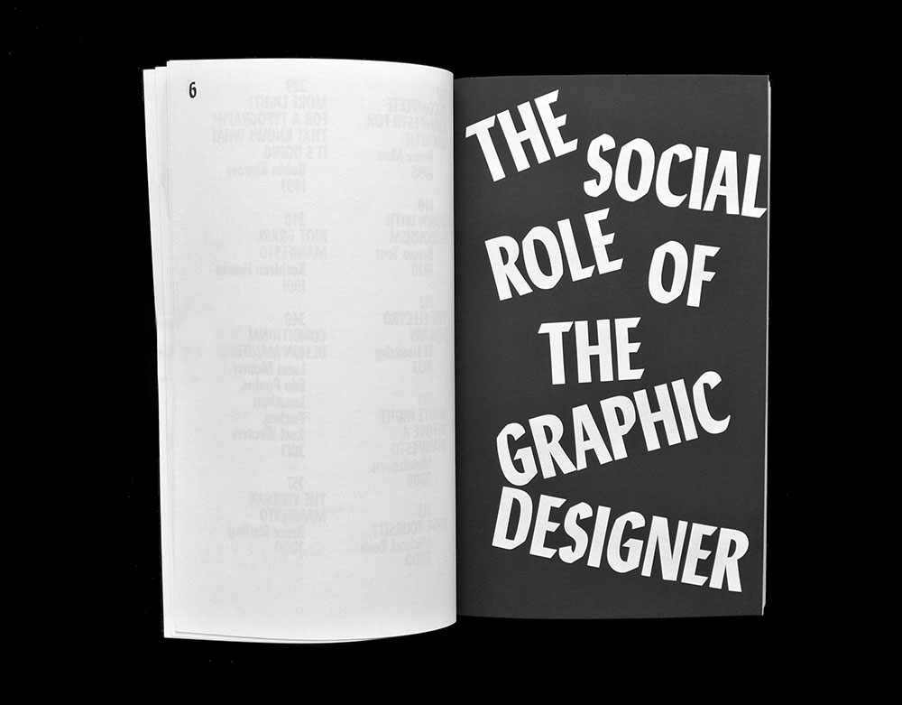 Manifestos Matthijs Matt van Leeuwen Joseph Han Spread The Social Role Of The Graphic Designer Pierre Bernard 2014
