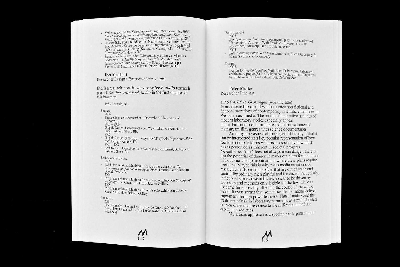 Matthijs Matt van Leeuwen Program Brochure 2007 Jan van Eyck Academie
