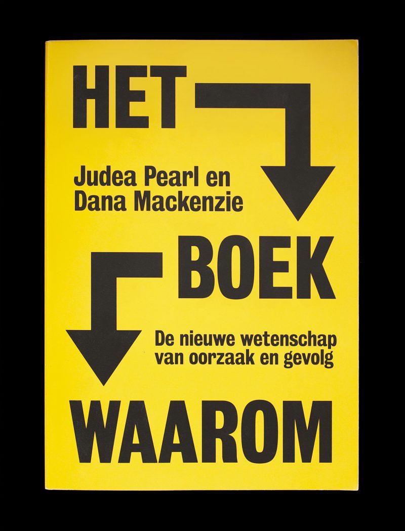 Het Boek Waarom Judea Pearl Maven Publishing Book Cover Design