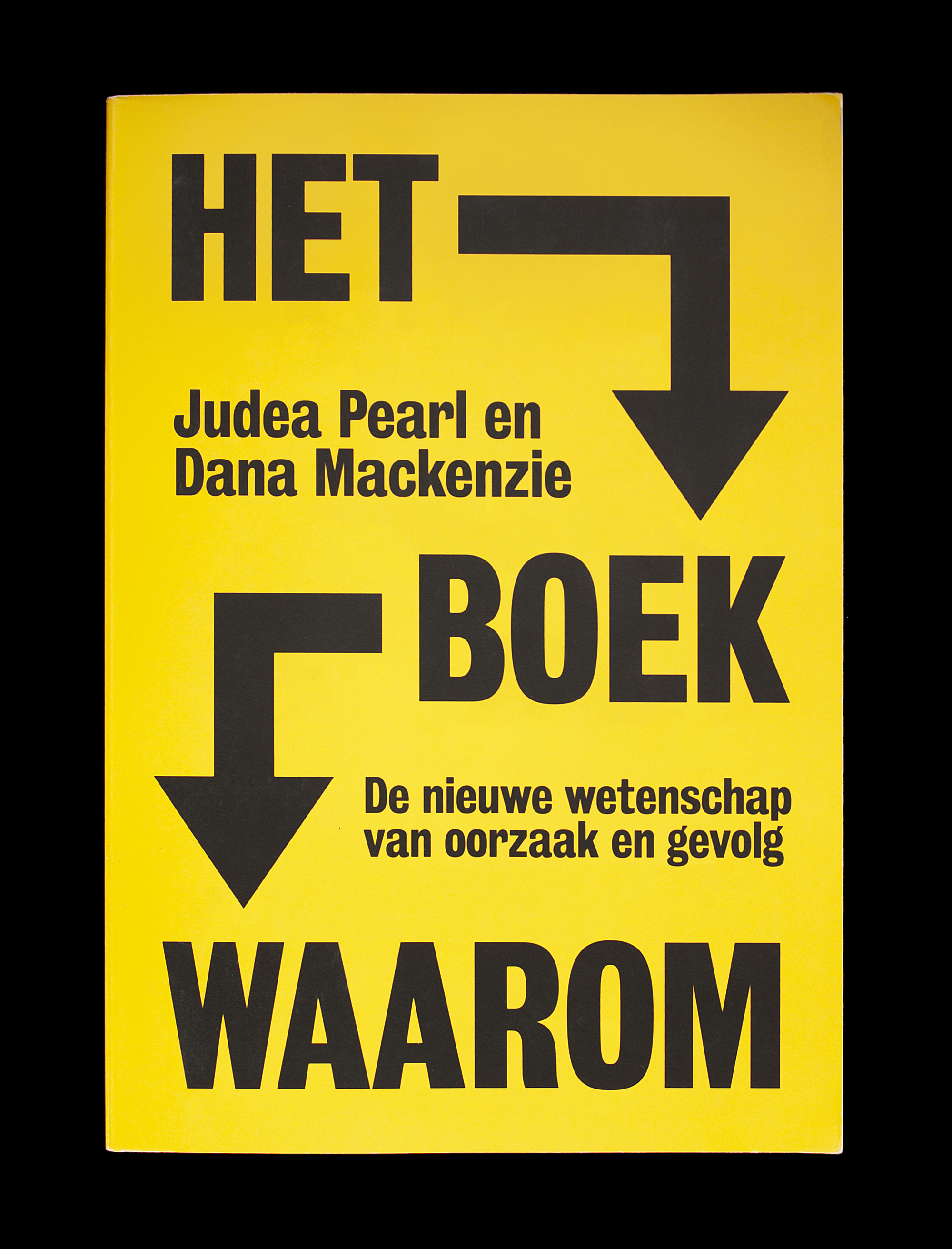 Matthijs Matt van Leeuwen, Het Boek Waarom, Judea Pearl, Bas Haring, Maven Publishing, Book Cover Design, Amsterdam, New York