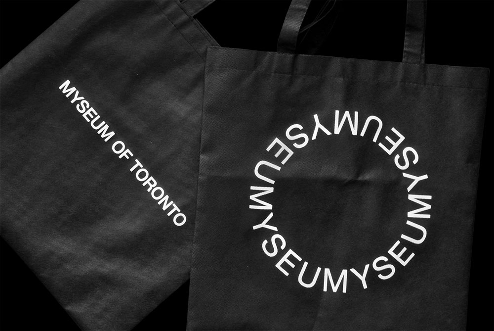 Matthijs Matt van Leeuwen, Kozue Yamada, Myseum of Toronto, Interbrand, Logo, Totebag