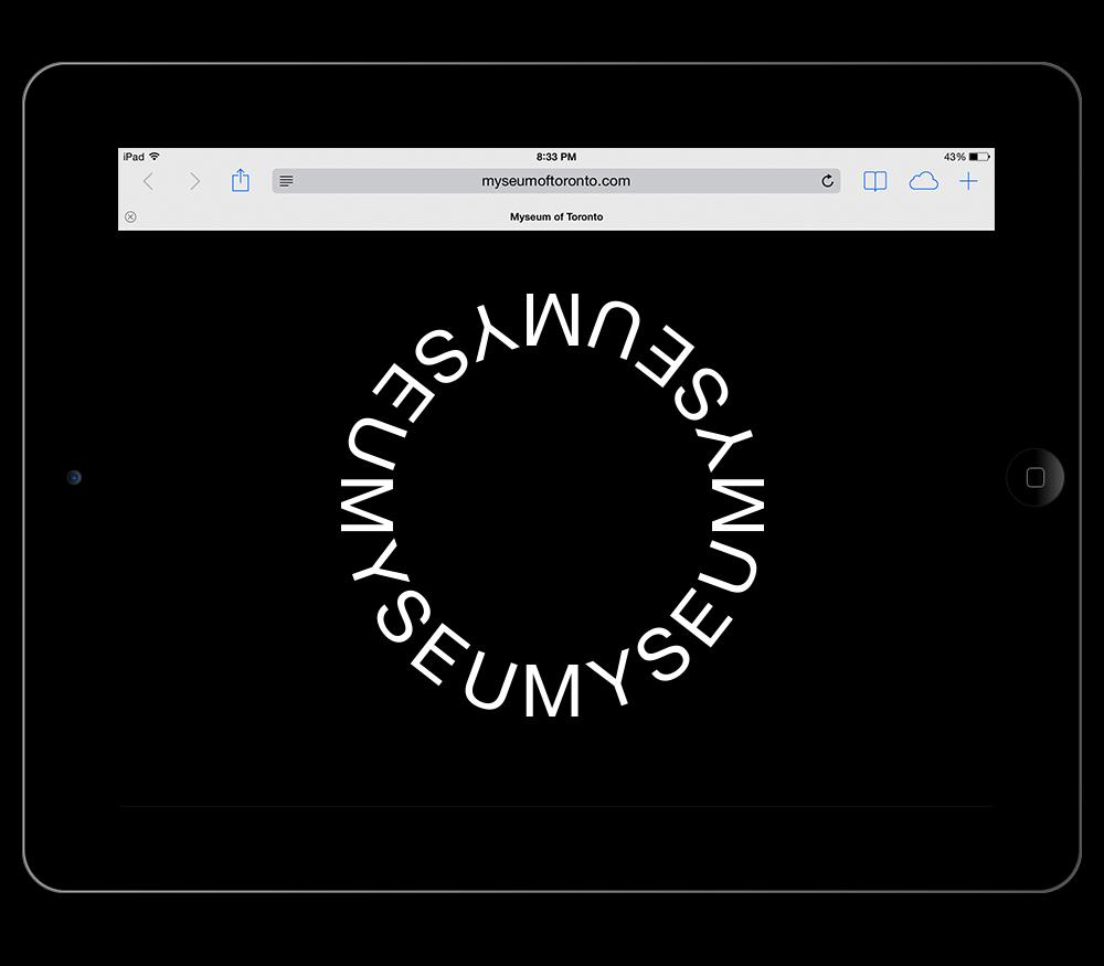 Matthijs Matt van Leeuwen, Kozue Yamada, Myseum of Toronto, Interbrand, Logo, Website