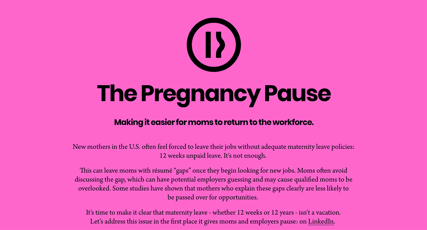 Matthijs Matt van Leeuwen, Mother New York, Vanessa hopkins, The Pregnancy Pause