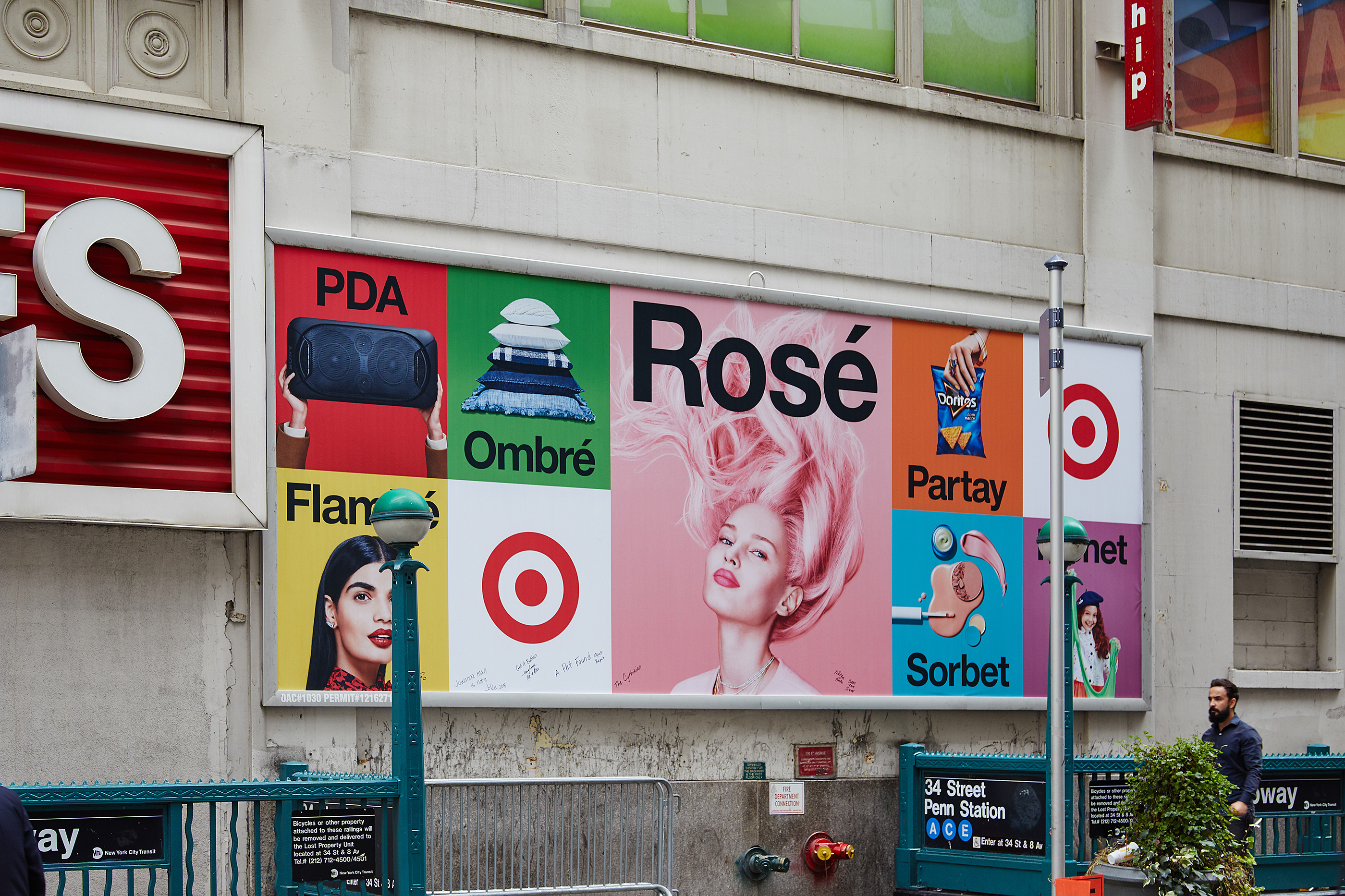 Matthijs Matt van Leeuwen, Mother New York, Target, Identity Campaign Design