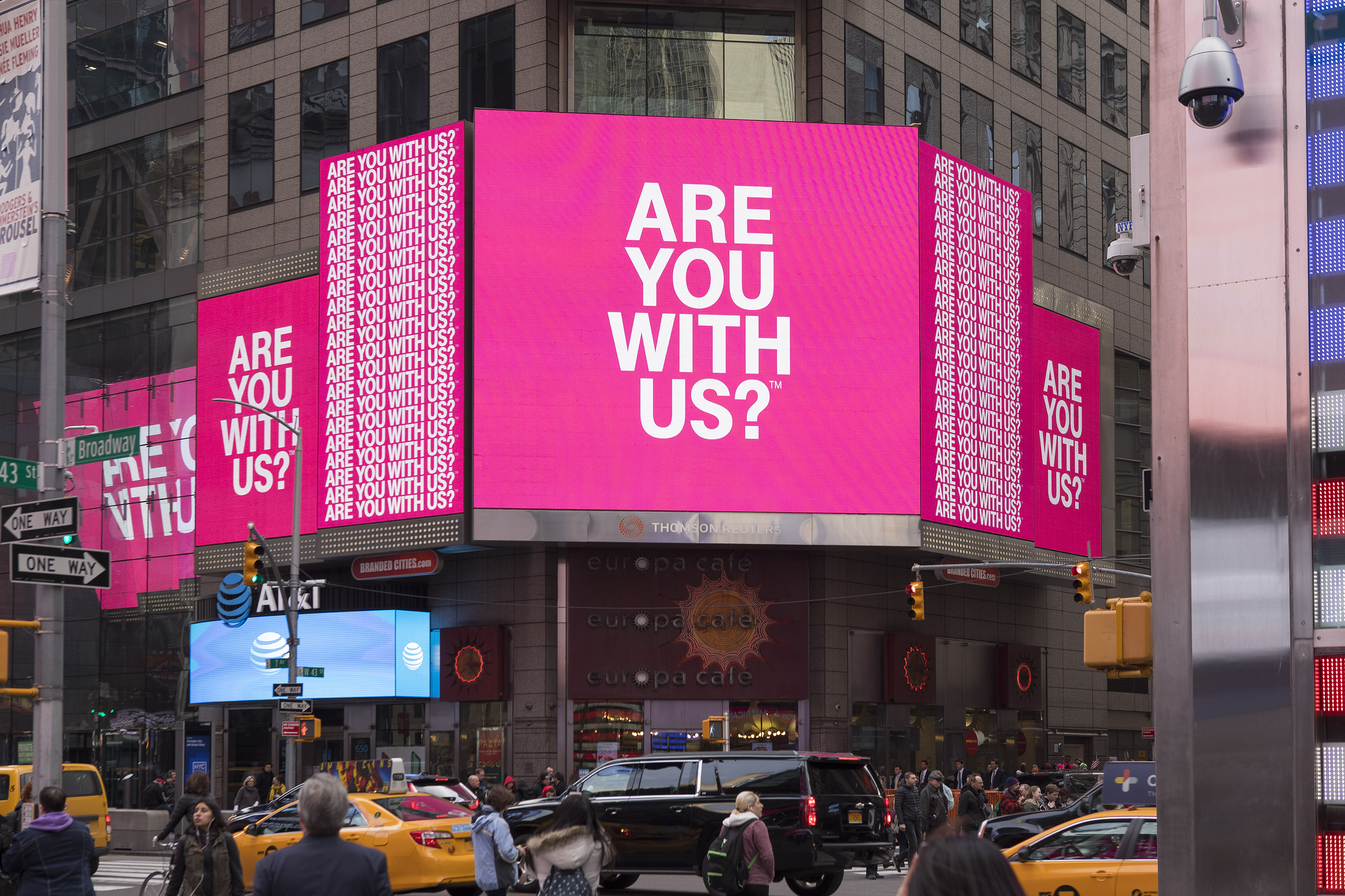Matthijs Matt van Leeuwen, Mother New York, T-Mobile, Lauren van Aswegen, Demelza Rafferty, Identity Campaign Design