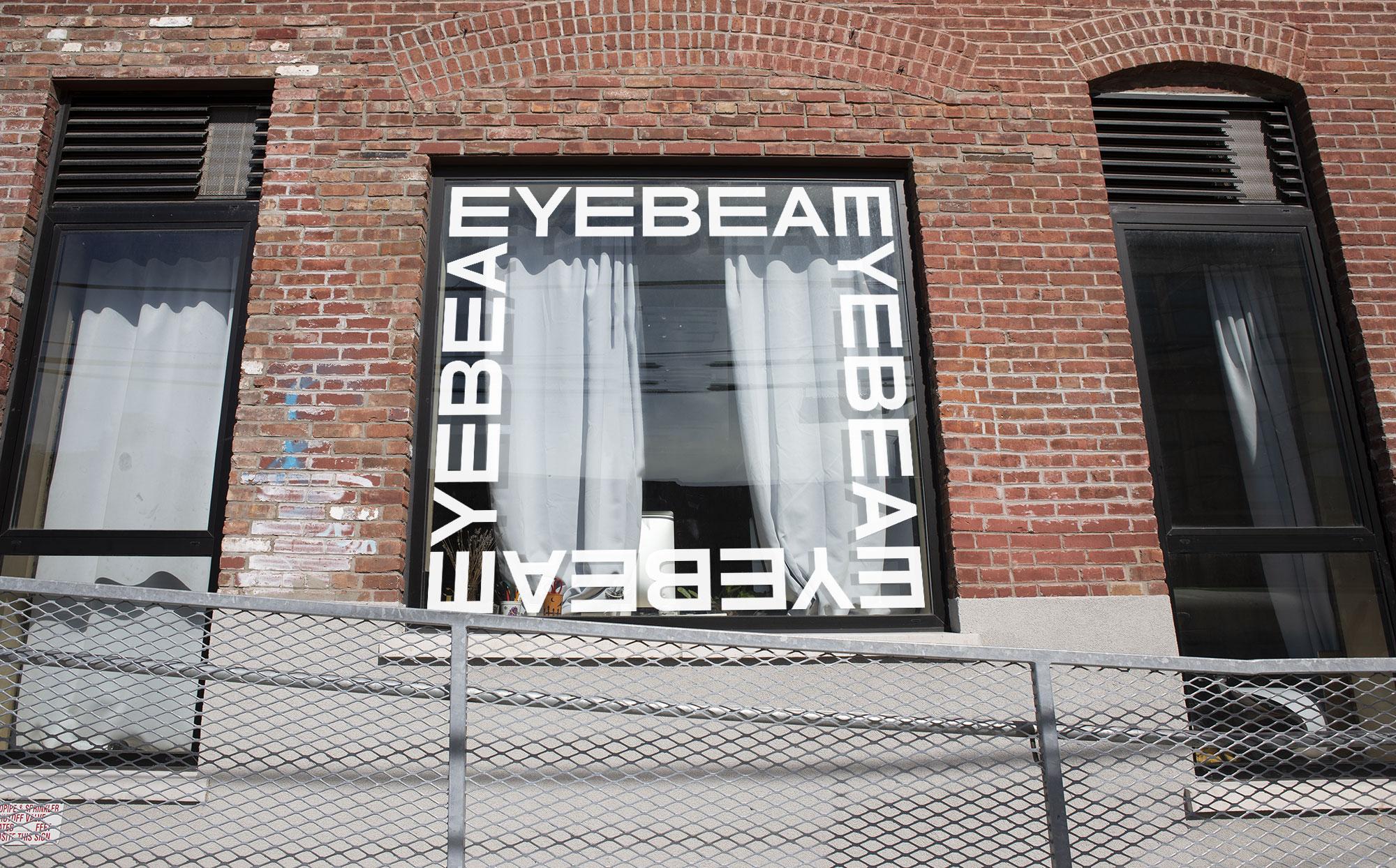 Eyebeam, Mother Design, Visual Identity, Logo, Yaya Xu, Matt van Leeuwen, Matthijs van Leeuwen