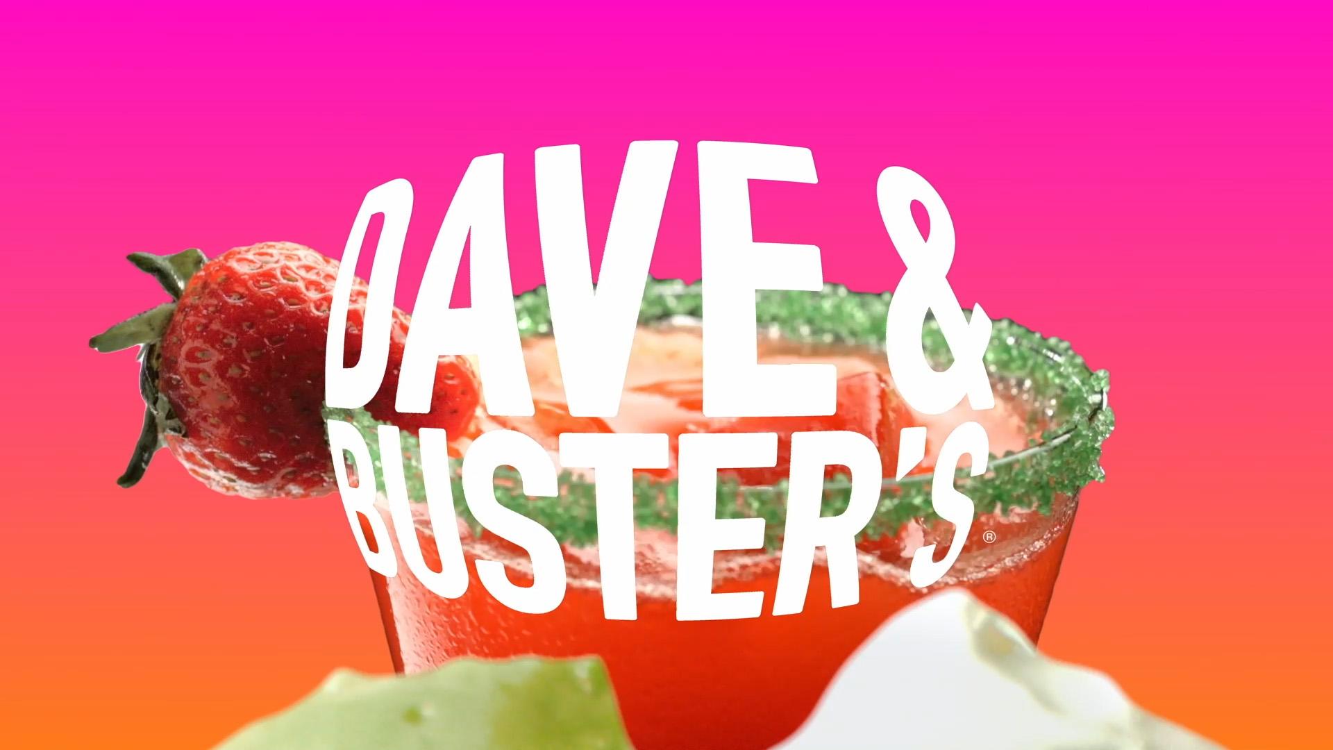 Matt van Leeuwen, Dave & Buster's, Mother Design, Logo, Identity, Matthijs van Leeuwen