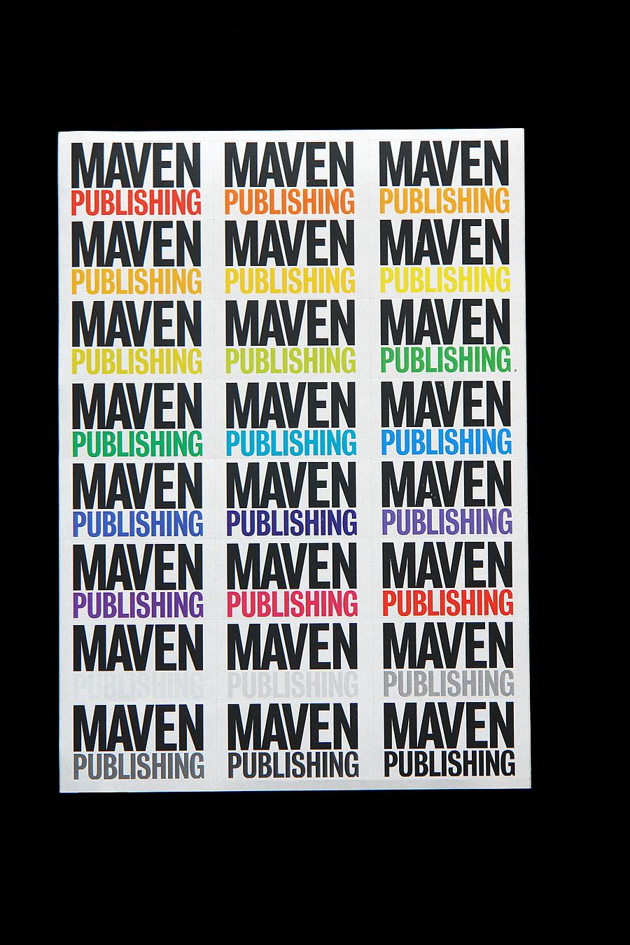 Matthijs Matt van Leeuwen, Maven Publishing, Identity, Logo, Sander Ruys, G2K Designers Amsterdam