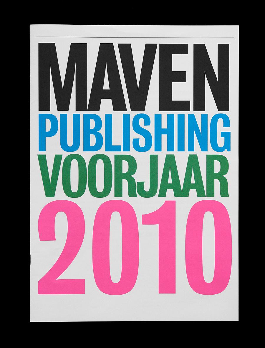 Matthijs Matt van Leeuwen, Maven Publishing, Catalogus, Catalogue, Identity, Voorjaar 2010