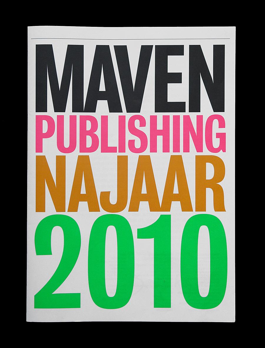 Matthijs Matt van Leeuwen, Maven Publishing, Catalogus, Catalogue, Identity, Najaar 2010