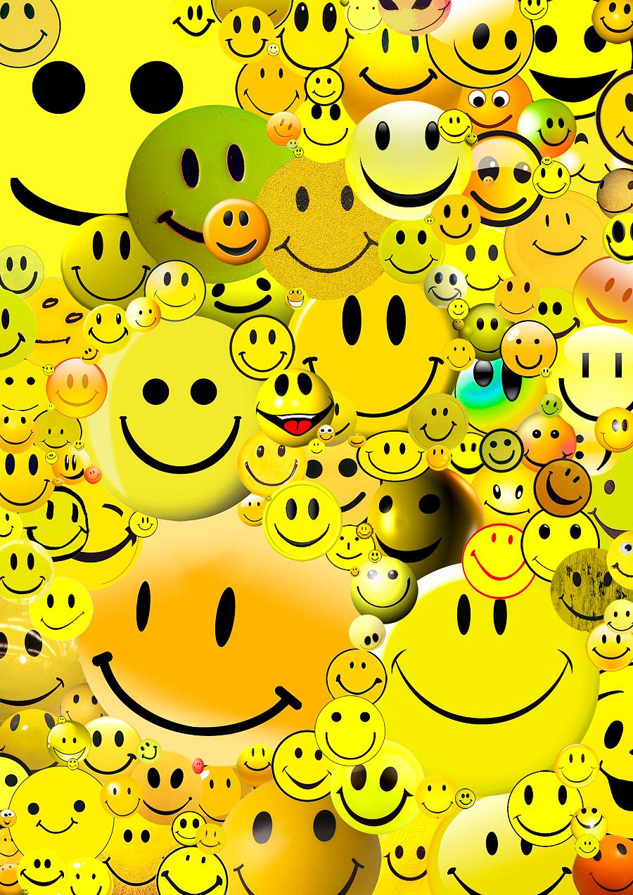 основные картинки смайлики много красивых с улыбками салат получился