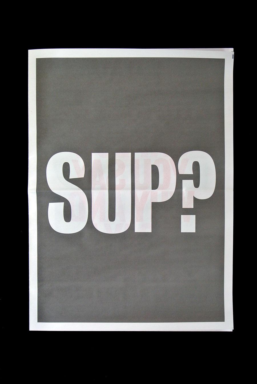 Sup? Matt Matthijs van Leeuwen newspaper webecomelegend cover