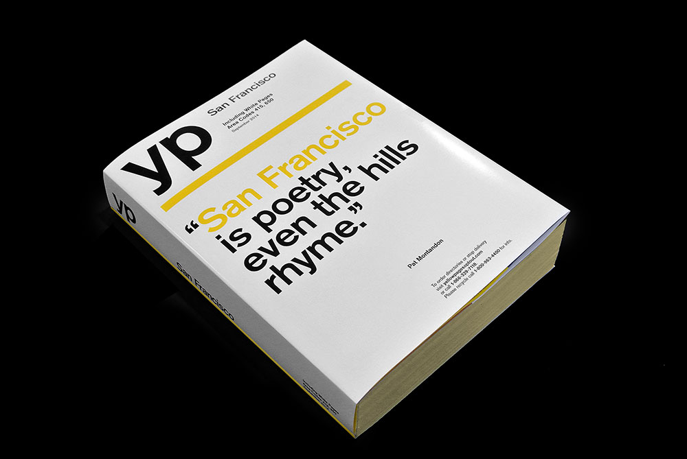 yellow pages YP cover San Francisco Patt  Montandon Matt Matthijs van Leeuwen Interbrand