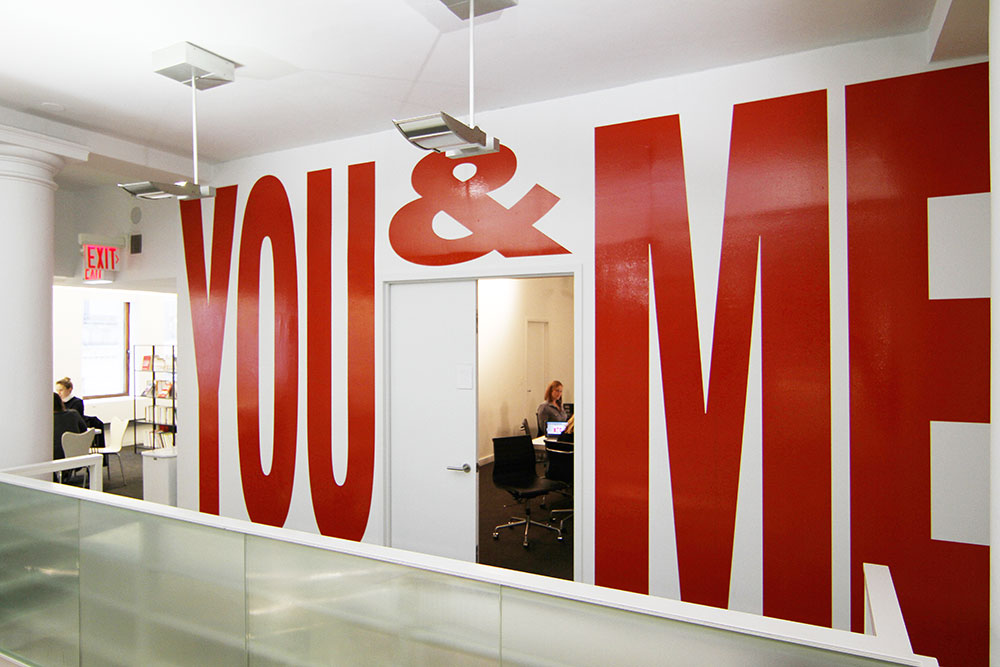 You and Me, Matthijs Matt van Leeuwen, Joseph Han, Interbrand New York